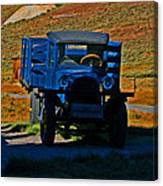 A Dodge In Bodie Canvas Print
