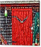 A Door In Maine Canvas Print