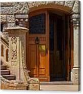 A Door In Monaco Canvas Print