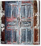 A Door Seldom Open Canvas Print