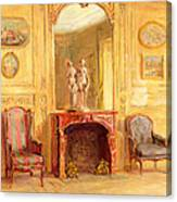 A Drawing Room Canvas Print