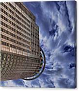 A Drifting Skyscraper Canvas Print