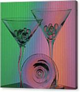 A Dry Martini Canvas Print