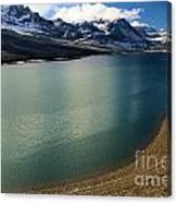 A Dusting On Glacier Canvas Print