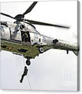 A Eurocopter As332 Super Puma Canvas Print