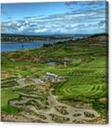 A Fairway To Heaven - Chambers Bay Golf Course Canvas Print