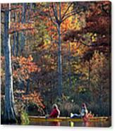 A Fall Fishing Trip Canvas Print