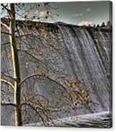 A Fall Waterfall Canvas Print