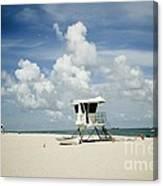 A Fine Day At The Beach Canvas Print