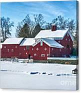 A Fine Winter Day Canvas Print