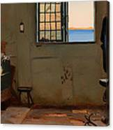 A Fisherman's Bedroom Canvas Print