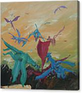 A Flight Of Dragons Canvas Print