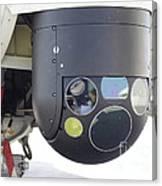 A Flir Camera Mounted On An Eh101 Canvas Print