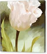 One Beautiful Flower Impressionism Canvas Print
