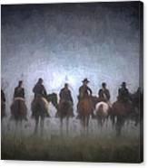 A Foggy Gettysburg Morning - Oil Canvas Print