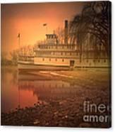 A Foggy Sunrise Canvas Print