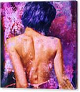 A Forbidden Love Affair Canvas Print