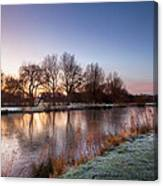 A Frosty Morning Canvas Print