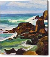 A Frouxeira Galicia Canvas Print