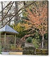 A Garden Walk In February Canvas Print