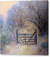 A Gate Canvas Print