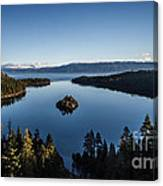 A Generic Photo Of Emerald Bay Canvas Print