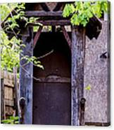 A Ghost In The Potting Shed Canvas Print