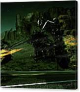 A Ghost Rider Canvas Print