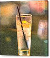 A Glass Of Water Canvas Print