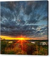 A Glorious Minneapolis Sunset Canvas Print