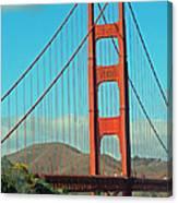 A Golden Gate View Canvas Print