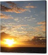 A Golden Sunrise - Singer Island Canvas Print