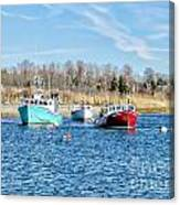 A Good Day To Fish Canvas Print