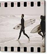 A Good Day To Surf Canvas Print