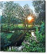 A Good Day Canvas Print
