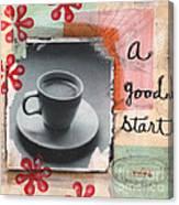 A Good Start Canvas Print
