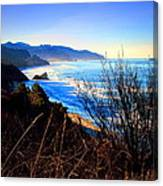 A Gorgeous Morning On The Pacific Canvas Print
