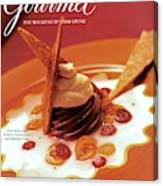 A Gourmet Cover Of Moch Mousse Canvas Print