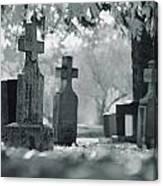 A Graveyard Canvas Print