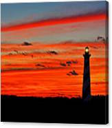 A Great Ending Canvas Print
