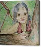 A Greenie Canvas Print