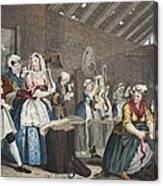 A Harlots Progress, Plate Lv Scene Canvas Print