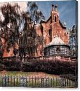 A Haunting House Canvas Print
