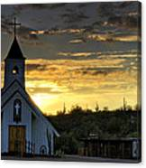 A Heavenly Morning  Canvas Print
