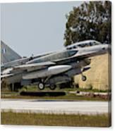 A Hellenic Air Force F-16d Block 52+ Canvas Print