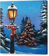 A Holiday Carol Canvas Print