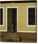 A House Is Made Of Walls And Beams A Home Is Built With Love  Canvas Print