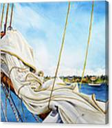 A. J. Meerwald Heading Out Canvas Print