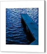 A Jetty's Life Canvas Print