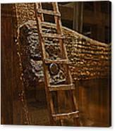 A Ladder's Rung Canvas Print